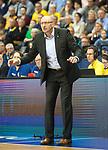 10.02.2018, EWE Arena, Oldenburg, GER, BBL, EWE Baskets Oldenburg vs Rockets Erfurt, im Bild<br /> in Aktion....<br /> <br /> Mladen DRIJENCIC (EWE Baskets Oldenburg #Headcoach)<br /> Foto &copy; nordphoto / Rojahn