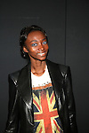 Model Georgie Backstage at Zang Toi Spring 2014 Fashion Show Held During Mercedes Benz Fashion Week NY