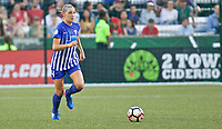 Portland, OR - Saturday May 27, 2017: Megan Oyster during a regular season National Women's Soccer League (NWSL) match between the Portland Thorns FC and the Boston Breakers at Providence Park.