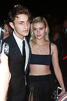 NEW YORK, NY - SEPTEMBER 9:  Anwar Hadid and Nicola Peltz at the 2017 Harper's Bazaar Icons at The Plaza Hotel on September 9, 2017 in New York City. <br /> CAP/MPI/DC<br /> &copy;DC/MPI/Capital Pictures