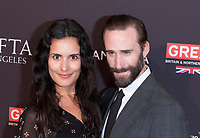 Joseph Fiennes and Maria Dolores Dieguez attend the BAFTA Los Angeles Awards Season Tea Party at Hotel Four Seasons in Beverly Hills, California, USA, on 06 January 2018. Photo: Hubert Boesl - NO WIRE SERVICE - Photo: Hubert Boesl/dpa /MediaPunch ***FOR USA ONLY***