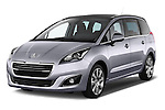 Front three quarter view of a 2014 Peugeot 5008 Allure 5 Door Mini Mpv 2WD.