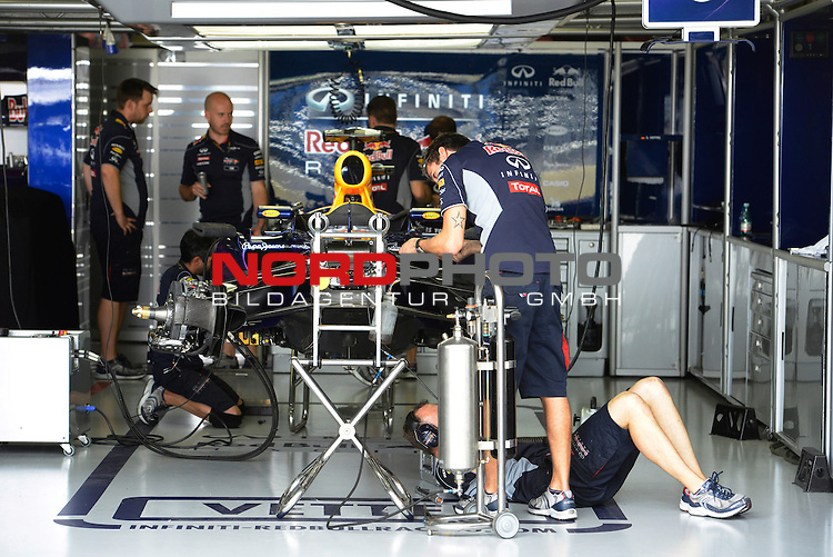 22-24.11.2013, Autodromo Jose Carlos Pace, Sao Paulo, BRA, F1, Grosser Preis von Brasilien, im Bild Red Bull Racing <br />  Foto &copy; nph / Mathis