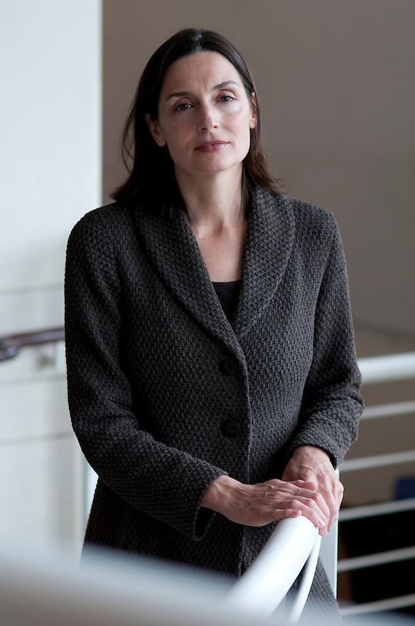 CAMBRIDGE, MA.--Hanna Bowles, Associate Professor of Public Policy at the Kennedy School of Government at Harvard University, researches gender in negotiation and the attainment of leadership positions. ..CREDIT: JODI HILTON FOR THE NEW YORK TIMES