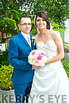 Jane Vaughan, Limerick, and Bobby Curtin, Newcastle west were married at Monega Church Fr Ambrose on Thursday 28th July 2016 with a reception at Ballygarry House Hotel
