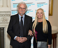 30 October 2017 - Billy Connolly and wife Pamela Stephenson at a reception at 10 Downing Street in London, marking 200 years since Dr James Parkinson's Essay on the Shaking Palsy. Photo Credit: ALPR/AdMedia