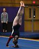 Erin Agoglia of South Side performs her floor routine during a Nassau County varsity gymnastics meet against Massapequa at McKenna Elementary School in Massapequa Park on Monday, Jan. 29, 2018.