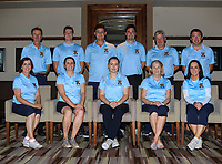 The Tullamore team for the Final round of the Irish Mixed Foursomes Leinster Final at Millicent Golf Club, Clane, Co. Kildare. 06/08/2017<br /> <br /> Back Row:<br /> Joe Morris (Team Manager), Matthew Grehan, Eoin Flanagan, Eoin Marsden, Martin Darcy and Colm Cassidy.<br /> Front Row:<br /> Fiona Flanagan, Richelle O'Neill, Emily Donohue, Cait Cooney and Eilish O'Connell.<br />  <br /> Picture: Golffile | Thos Caffrey<br /> <br /> <br /> All photo usage must carry mandatory copyright credit     (&copy; Golffile | Thos Caffrey)