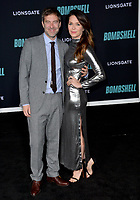 "LOS ANGELES, USA. December 11, 2019: Mark Duplass & Katie Aselton  at the premiere of ""Bombshell"" at the Regency Village Theatre.<br /> Picture: Paul Smith/Featureflash"