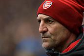 10th February 2018, Wembley Stadium, London England; EPL Premier League football, Tottenham Hotspur versus Arsenal; Steve Bould of Arsenal