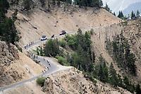 descending 'up' the Col de l'Izoard (HC/2354m/14.2km@7%) > 2km from the top, in the 'Casse Déserte'<br /> <br /> Stage 18: Embrun to Valloire(208km)<br /> 106th Tour de France 2019 (2.UWT)<br /> <br /> ©kramon