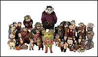 BNPS.co.uk (01202 558833)<br /> Pic:   Dukes/BNPS<br /> <br /> The original figures from the childhood classic film Wind in the Willows have emerged for sale for £10,000.<br /> <br /> Twenty five figures will go under the hammer including the four main characters, Badger, Toad, Mole and Ratty.<br /> <br /> They were used in the 1983 animation film and subsequent TV show which ran for 52 episodes on ITV from 1984 to 1988.<br /> <br /> The beloved film, in which Chief Weasel was voiced by David Jason, won a BAFTA for 'best children's programme' and an international Emmy.