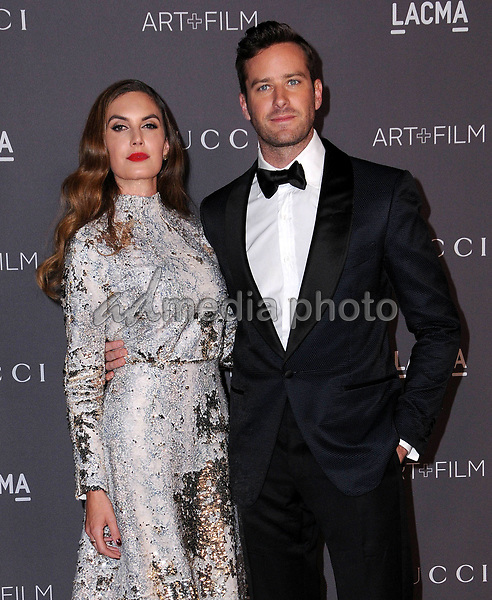 04 November  2017 - Los Angeles, California - Armie Hammer. 2017 LACMA Art+Film Gala held at LACMA in Los Angeles. Photo Credit: Birdie Thompson/AdMedia