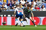 Real Sociedad's Igor Zubeldia and RCD Espanyol's Sergi Darder  during La Liga match. May, 18th,2019. (ALTERPHOTOS/Alconada)