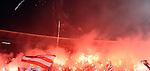 FUDBAL, BEOGRAD, 26. Nov. 2011. - Bakljada navijaca Crvene zvezde.  141. veciti derbi izmedju Crvene zvezde i Partizana u okviru  Jelen Superlige Srbije (2011/2012). Foto: Nenad Negovanovic