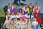CAST: The full cast of the Oliver Hurley Production of Jack and the Beanstalk Musical, at Siamsa Tire, Tralee on Thursday..   Copyright Kerry's Eye 2008