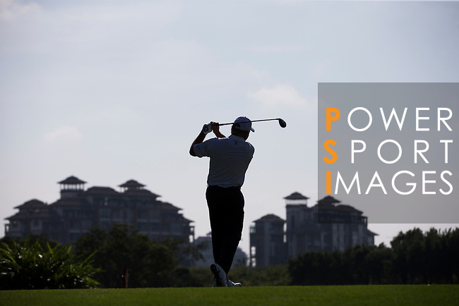 Mark O'Meara plays during the World Celebrity Pro-Am 2016 Mission Hills China Golf Tournament on 22 October 2016, in Haikou, China. Photo by Victor Fraile / Power Sport Images