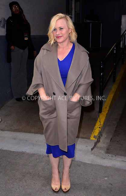 WWW.ACEPIXS.COM<br /> <br /> November 13 2015, New York City<br /> <br /> Patricia Arquette made an appearance at HuffPost Live on November 13 2015 in New York City<br /> <br /> By Line: Curtis Means/ACE Pictures<br /> <br /> <br /> ACE Pictures, Inc.<br /> tel: 646 769 0430<br /> Email: info@acepixs.com<br /> www.acepixs.com