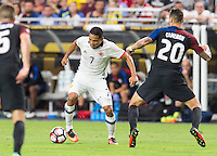 Glendale, AZ - Saturday June 25, 2016: Carlos Bacca during a Copa America Centenario third place match match between United States (USA) and Colombia (COL) at University of Phoenix Stadium.