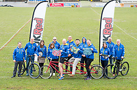 Picture by Allan McKenzie/SWpix.com - 04/04/2018 - Rubgy League - RFL Cares Ride to Wembley - Provident Stadium, Bradford, England -
