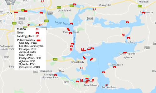 Cork Harbour 2020 landing and berthing facilities