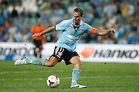 Sydney FC Richard Garcia during his A-League match against Brisbane Roar in Sydney, March 14, 2014. Photo by Daniel Munoz/VIEWPRESS EDITORIAL USE ONLY