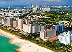 Aerial photographs of Miami South Beach Florida  Florida Beaches