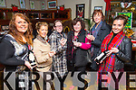 Joanne Burns, Jacqueline Higgins, Karen Ivers, Joan Ivers, Bernice Hoffman, Barbara Higgins enjoying the Der O'Sullivan Festive Wine tasting customer night in the Mall Tavern on Friday