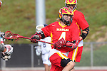 Mission Viejo, CA 05/14/11 - Colby Maxwell (Mission Viejo #4) in action during the Division 2 US Lacrosse / CIF Southern Section Championship game between Mission Viejo and Loyola at Redondo Union High School.