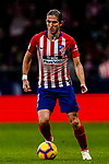 Filipe Luis of Atletico de Madrid in action during the La Liga 2018-19 match between Atletico de Madrid and Athletic de Bilbao at Wanda Metropolitano, on November 10 2018 in Madrid, Spain. Photo by Diego Gouto / Power Sport Images