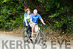 John McGeever and Joan Ann Brosnan who is who is blind are doing the Ring Of Kerry charity cycle on a tandem bike in aid of Pieta House this weekend