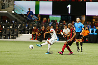 ATLANTA, Georgia - August 27: Darwin Quintero #25 during the 2019 U.S. Open Cup Final between Atlanta United and Minnesota United at Mercedes-Benz Stadium on August 27, 2019 in Atlanta, Georgia.