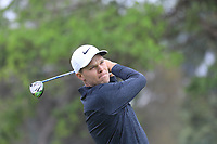 Martin Simonsen (DEN) in action on 1st tee during the second round of the Magical Kenya Open presented by ABSA played at Karen Country Club, Nairobi, Kenya. 15/03/2019<br /> Picture: Golffile | Phil Inglis<br /> <br /> <br /> All photo usage must carry mandatory copyright credit (&copy; Golffile | Phil Inglis)