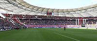 VfB Stuttgart - SV Werder Bremen Deutschland, Stuttgart, 29.09.2018, Fussball, Bundesliga, Saison 2018/2019, 6. Spieltag, VfB Stuttgart - SV Werder Bremen: VfB Stuttgart Fans Cannstatter Kurve, DFL REGULATIONS PROHIBIT ANY USE OF PHOTOGRAPHS AS IMAGE SEQUENCES AND/OR QUASI-VIDEO. *** VfB Stuttgart SV Werder Bremen Germany Stuttgart 29 09 2018 Soccer Bundesliga Season 2018 2019 6 Gameday VfB Stuttgart SV Werder Bremen VfB Stuttgart Fans Cannstatter Kurve DFL REGULATIONS PROHIBIT ANY USE OF PHOTOGRAPH AS IMAGE SEQUENCES AND OR QUASI VIDEO  <br /> Bundesliga<br /> Foto Imago/Insidefoto <br /> ITALY ONLY
