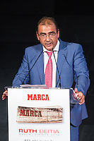 Spanish directos os Marca newspaper Juan Ignacio Gallardo during the award ceremony of Marca legend in the spanish olympic commitee headquarters in Madrid September 13, 2016. (ALTERPHOTOS/Rodrigo Jimenez) /NORTEPHOTO