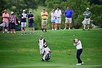 Martin Laird (SCO) hits his approach shot on 18 during round 2 of the Valero Texas Open, AT&amp;T Oaks Course, TPC San Antonio, San Antonio, Texas, USA. 4/21/2017.<br /> Picture: Golffile | Ken Murray<br /> <br /> <br /> All photo usage must carry mandatory copyright credit (&copy; Golffile | Ken Murray)