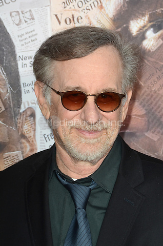 HOLLYWOOD, CA - MAY 10: Steven Spielberg at the 'All The Way' Los Angeles Premiere at Paramount Studios on May 10, 2016 in Hollywood, California. Credit David Edwards/MediaPunch