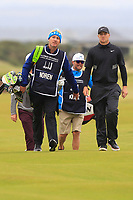 Alex Noren (SWE) on the 16th during Round 4 of the Alfred Dunhill Links Championship 2019 at St. Andrews Golf CLub, Fife, Scotland. 29/09/2019.<br /> Picture Thos Caffrey / Golffile.ie<br /> <br /> All photo usage must carry mandatory copyright credit (© Golffile | Thos Caffrey)