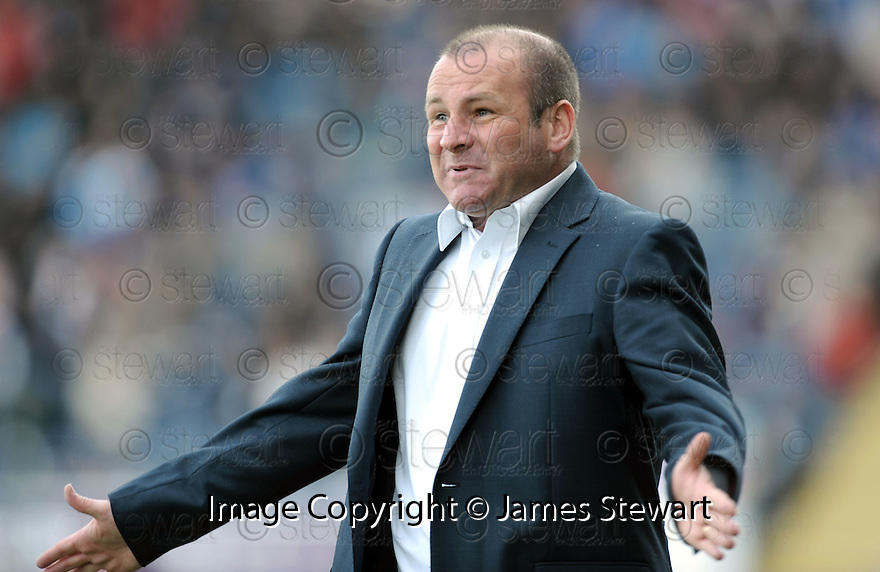 01/05/2010   Copyright  Pic : James Stewart.sct_jsp15_falkirk_v_st-mirren  .::  ST MIRREN MANAGER GUS MACPHERSON ::  .James Stewart Photography 19 Carronlea Drive, Falkirk. FK2 8DN      Vat Reg No. 607 6932 25.Telephone      : +44 (0)1324 570291 .Mobile              : +44 (0)7721 416997.E-mail  :  jim@jspa.co.uk.If you require further information then contact Jim Stewart on any of the numbers above.........