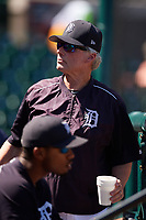 Detroit Tigers pitching coach Ace Adams during an Instructional League game against the Toronto Blue Jays on October 12, 2017 at Joker Marchant Stadium in Lakeland, Florida.  (Mike Janes/Four Seam Images)