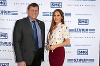 LOS ANGELES - OCT 25:  Ara Najarian, Kerri Kasem at the Studio Movie Grill Grand Opening at the Studio Movie Grill on October 25, 2019 in Glendale, CA