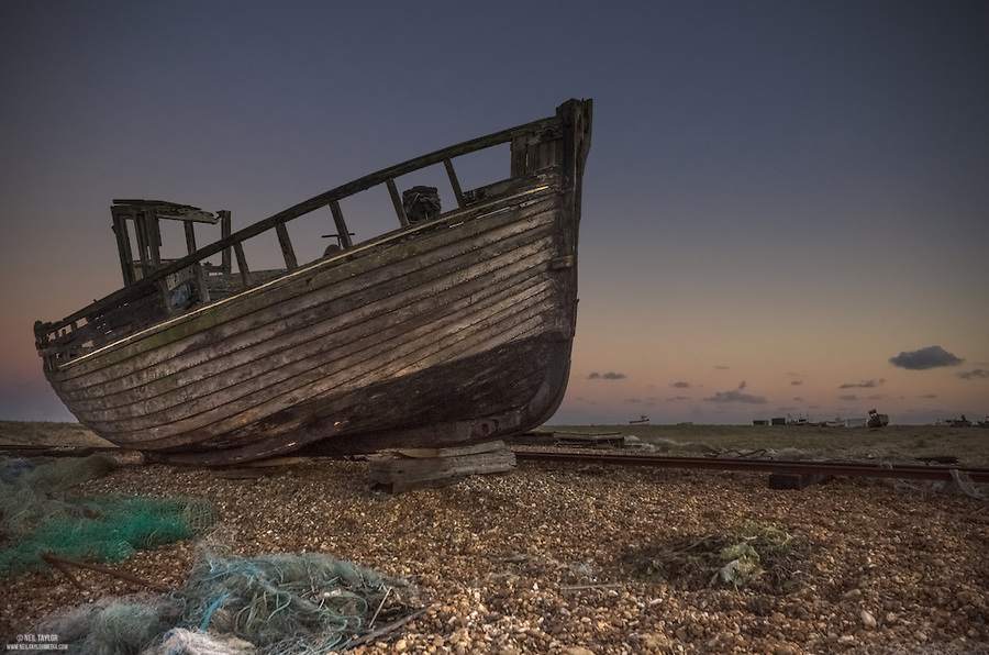 Abandoned at Dungeness