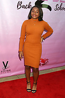 """LOS ANGELES - MAR 8:  Layla Crawford at the """"To the Beat! Back 2 School"""" World Premiere Arrivals at the Laemmle NoHo 7 on March 8, 2020 in North Hollywood, CA"""