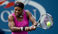 Serena Williams (USA)(3) against Alexa Glatch USA  in the first round. Williams beat Glatch 6-4 6-1..International Tennis - US Open - Day 1 Mon 31 Aug 2009 - USTA Billie Jean King National Tennis Center - Flushing - New York - USA ..Frey,  Advantage Media Network, Barry House, 20-22 Worple Road, London, SW19 4DH