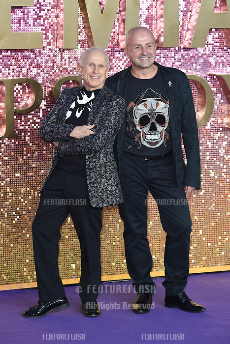 "LONDON, UK. October 23, 2018: Wayne Sleep at the world premiere of ""Bohemian Rhapsody"" at Wembley Arena, London.<br /> Picture: Steve Vas/Featureflash"