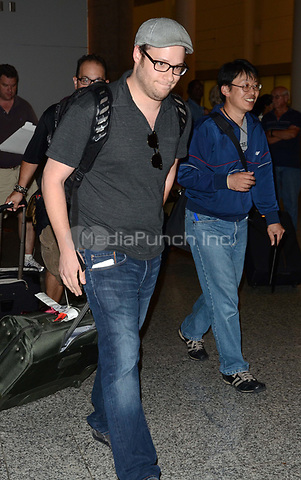 TORONTO, ON - SEPTEMBER 09:  Seth Rogen arrives in Toronto at Pearson International Airport for this years .2011 Toronto International Film Festival.  on September 9, 2011 in Toronto, Canada.   <br /><br />People:   Seth Rogen<br /><br />Credit: Hoo-Me.com/MediaPunch
