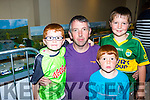 Kieran, Mike, Darragh and Pat Murphy milltown Milltown at the Toy Model show in the Torc Hotel on Sunday