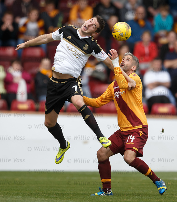Kenny McLean and Keith Lasley