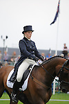 Imogen Murray [GBR] riding Wiseguy IV during the Dressage phase of the 2014 Land Rover Burghley Horse Trials held at Burghley House, Stamford, Lincolnshire