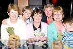 Charity cuppa: Putting the kettle on for the Listowel Hospice at the Three Mermaids in LIstowel last Thursday were front l-r Eileen Shaunessy, Ann Kennedy, Mary Comerford and David Lynch.Back l-r Mary Walsh and Noreen Brennan, all from Listowel.   Copyright Kerry's Eye 2008
